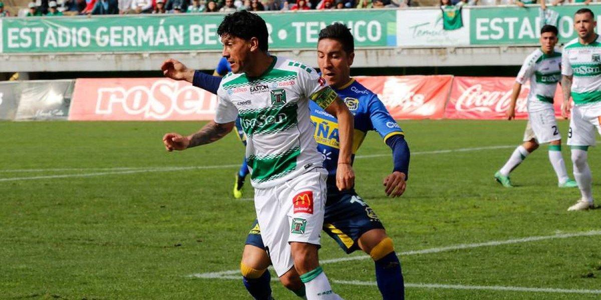Everton igualó con Temuco y ve cada más lejos la permanencia en Primera División