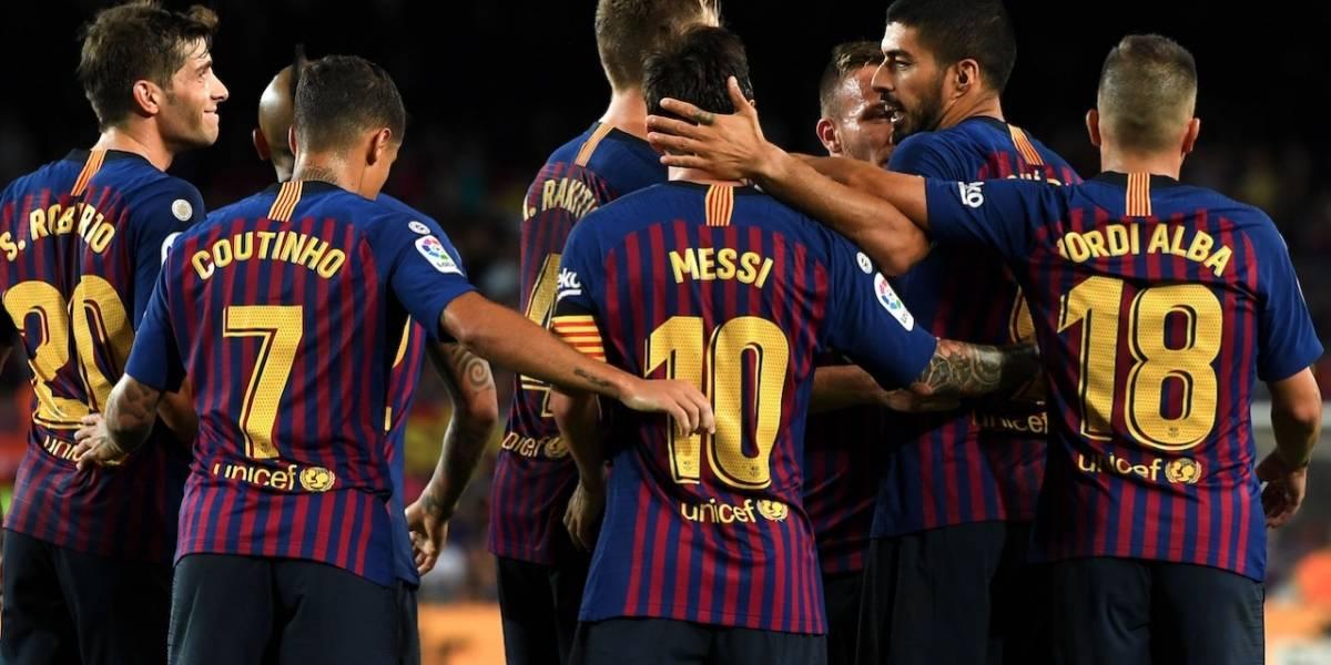 Valladolid será la próxima víctima del Barcelona de Lionel Messi