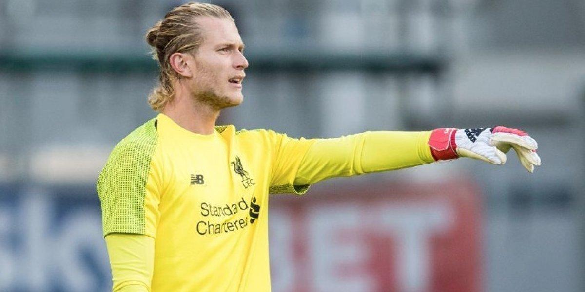 El criticado Loris Karius deja Liverpool y es nuevo compañero de Medel y Roco en Besiktas