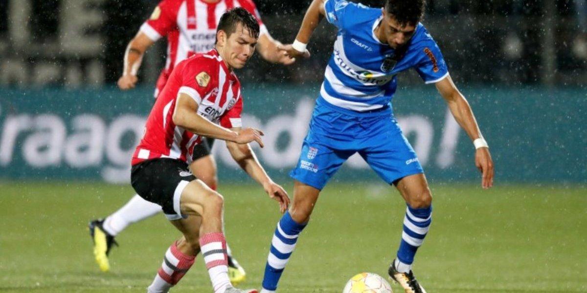 'Chucky' Lozano y el PSV mantienen su invicto en la Eredivisie