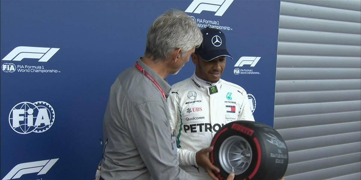 Hamilton se queda con la 'Pole' en el GP de Bélgica
