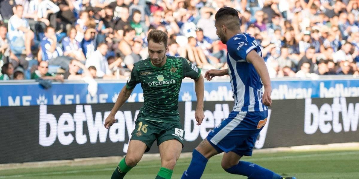 Real Betis de Andrés Guardado empata sin goles