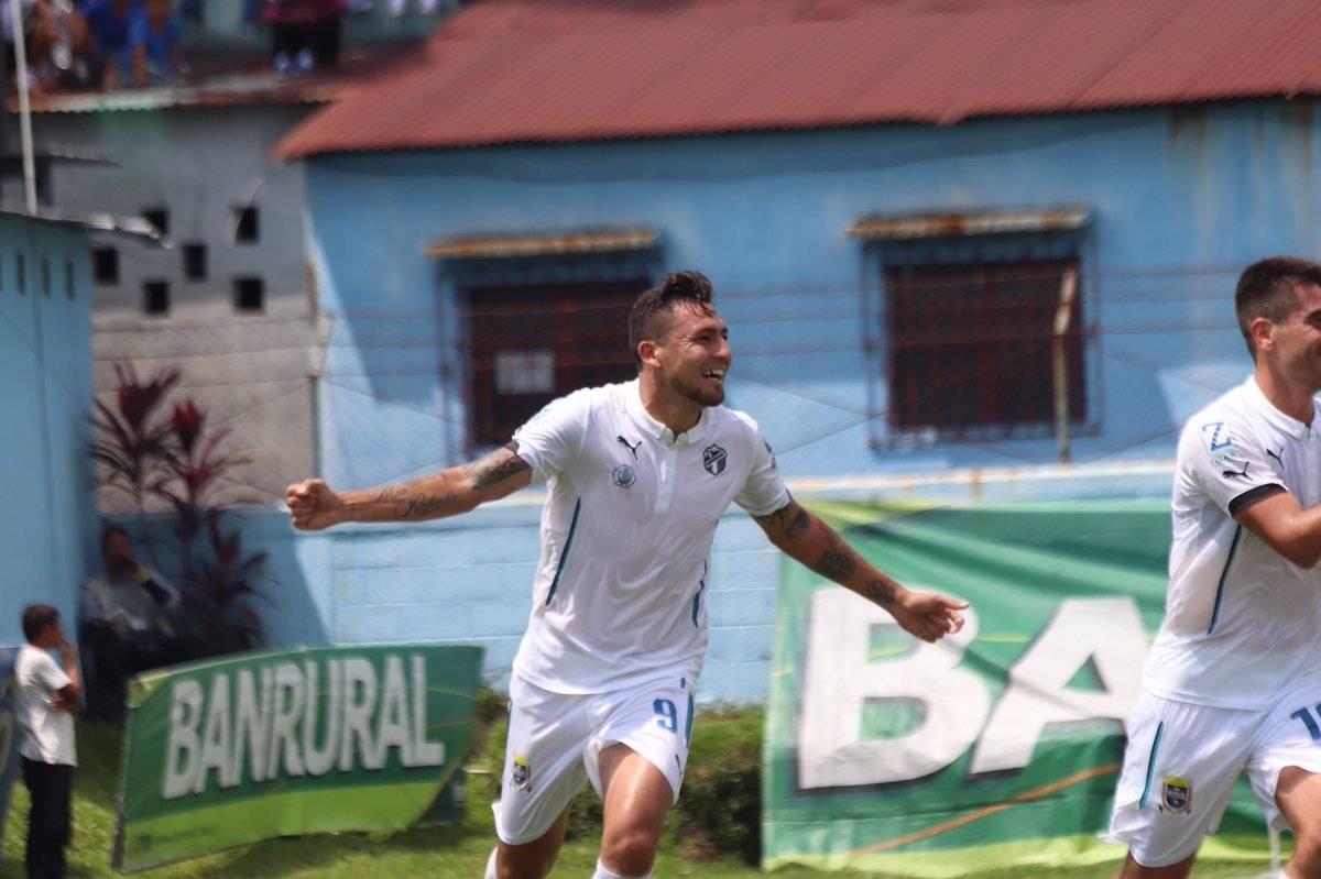 Darío Carreño marcó su quinto gol en el torneo