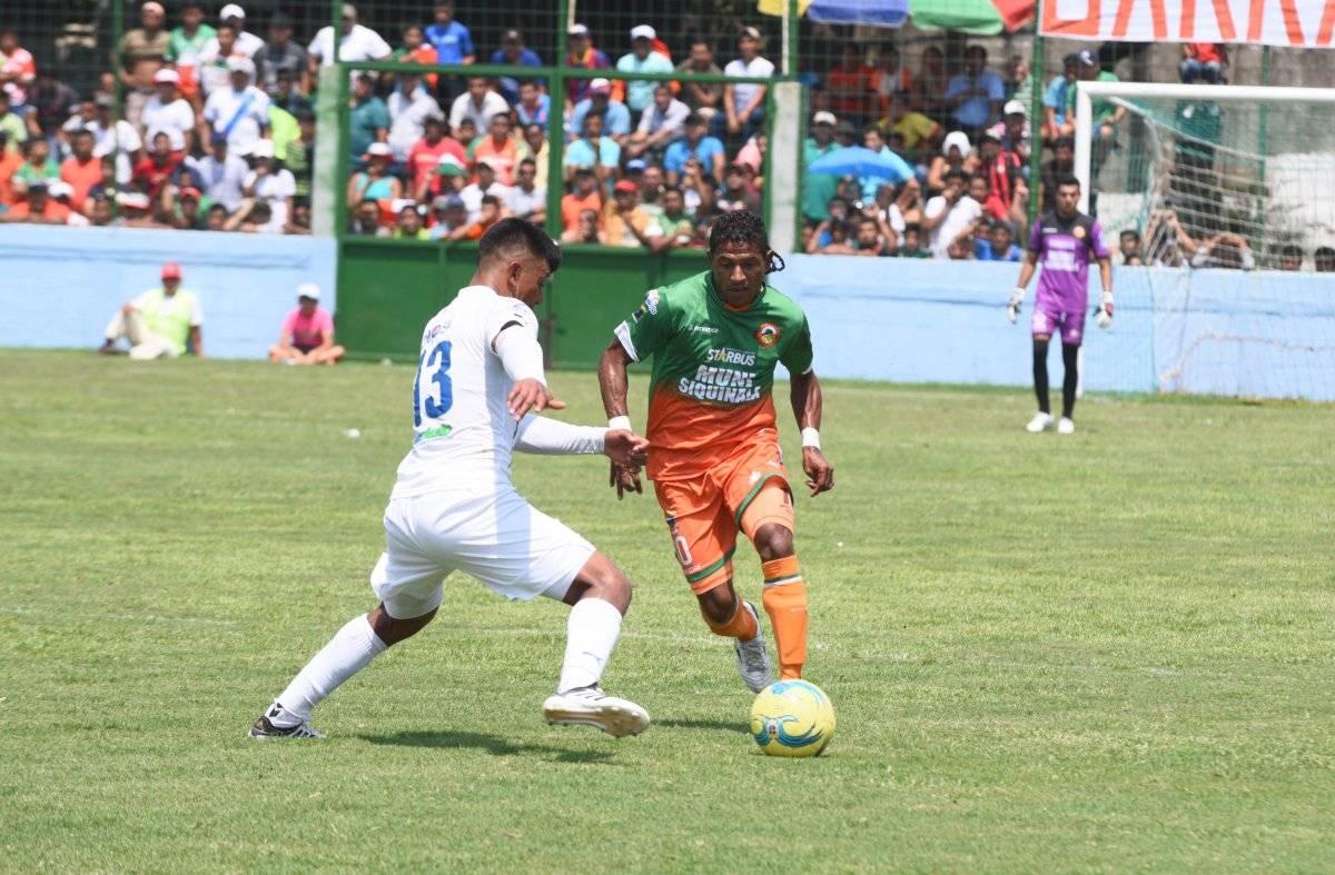 Siquinalá no ha ganado en el torneo