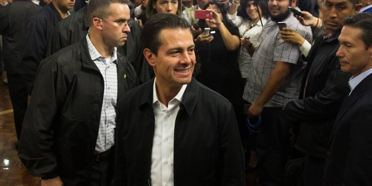 ¿Peña Nieto se suma al #ThaliaChallenge?; así responde