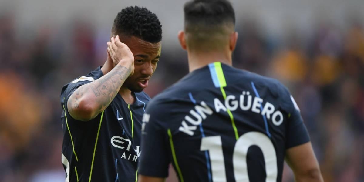 El City no pudo con el recién ascendido Wolverhampton y se complica en la Premier