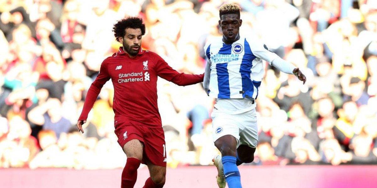 Salah pone al Liverpool como puntero de la Premier League