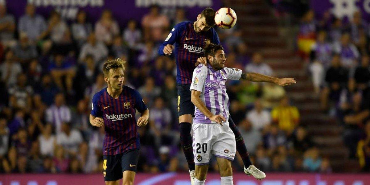 Así vivimos la reñida victoria del Barcelona de Arturo Vidal sobre Valladolid