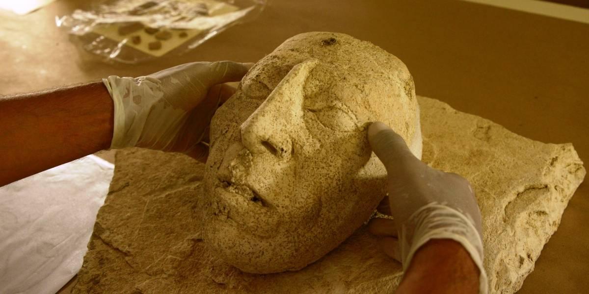 Descubren máscara del rey maya Pakal en el Palacio de Palenque