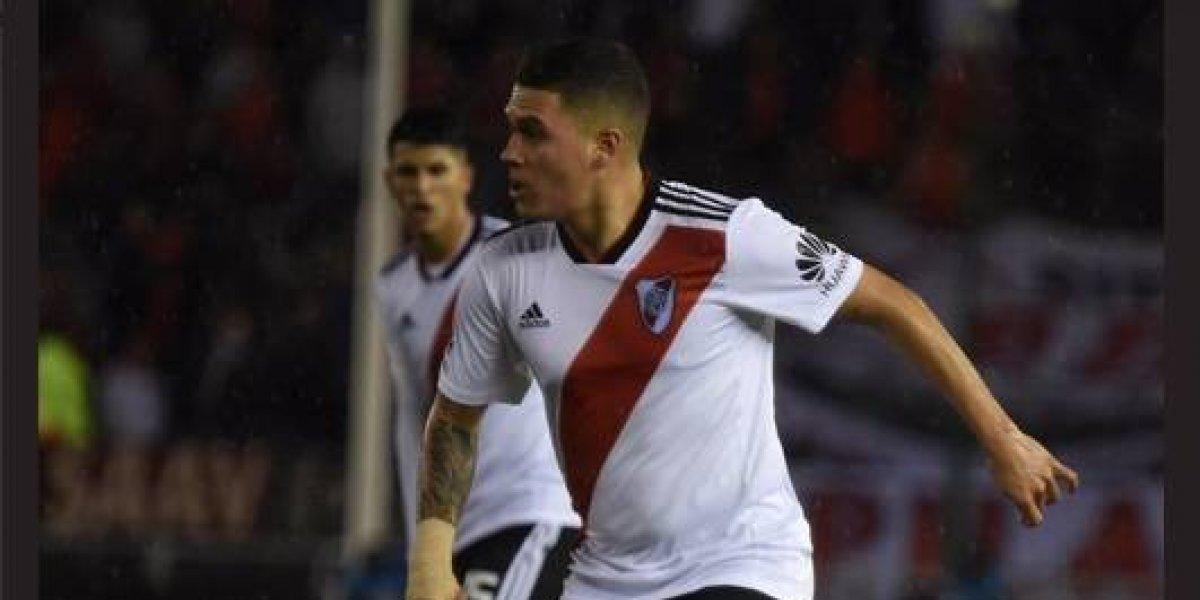 River aumentará la cláusula de rescisión de Juanfer Quintero a partir de diciembre