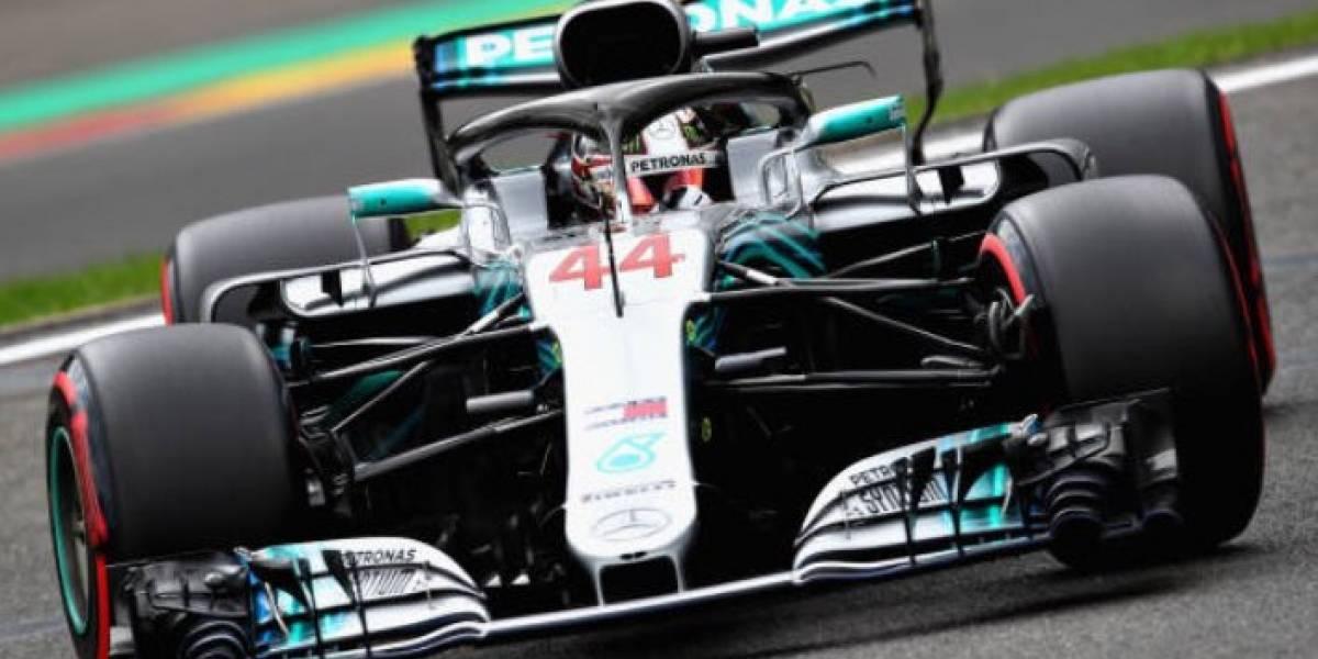 Lewis Hamilton brilla y se queda con la pole en el GP de Bélgica