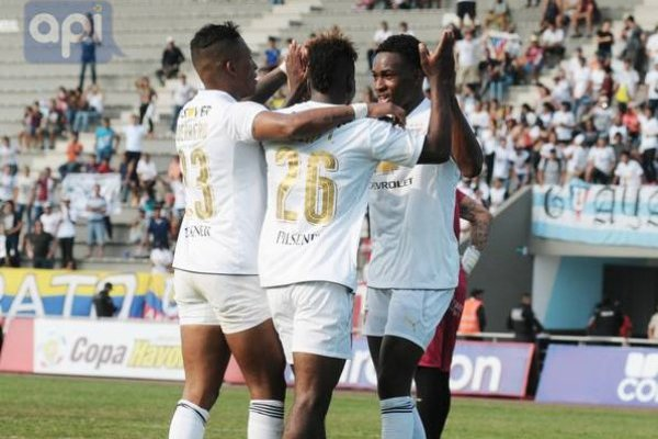 Campeonato ecuatoriano: Liga de Quito goleó al Guayaquil City