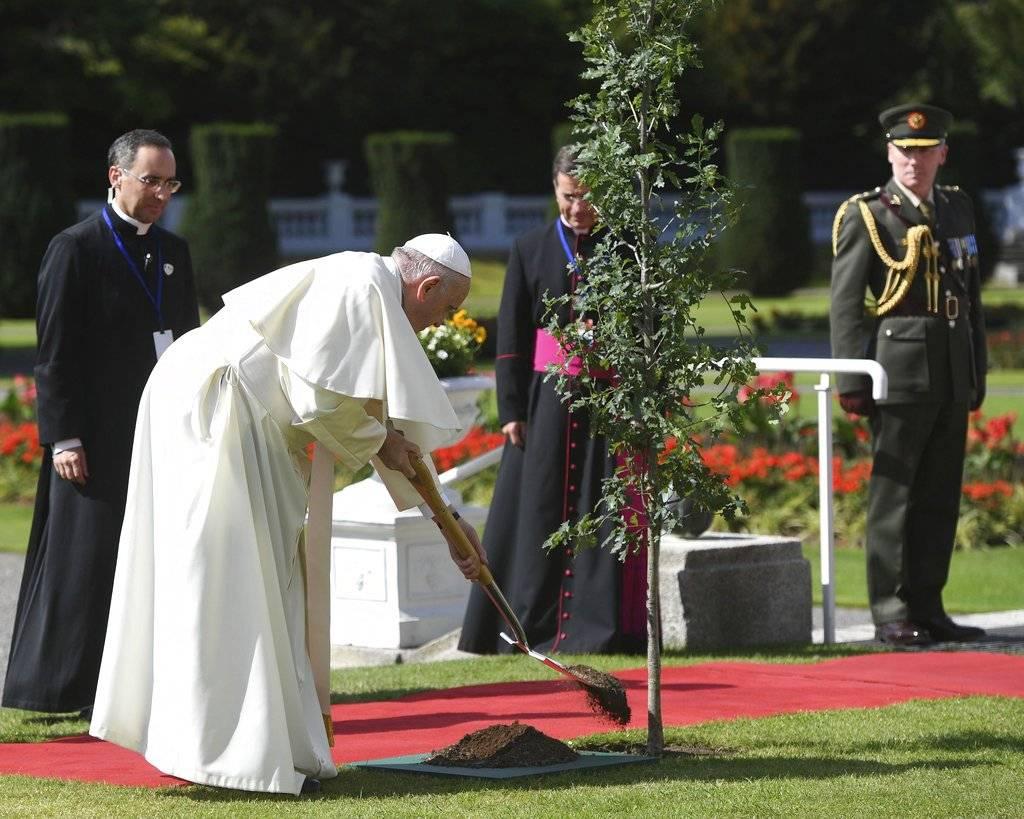 """Recordó que ha pedido empeño, """"incluso un mayor empeño"""", para acabar con este flagelo en la Iglesia Papa Francisco en Irlanda"""