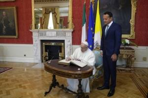 Papa Francisco en Irlanda