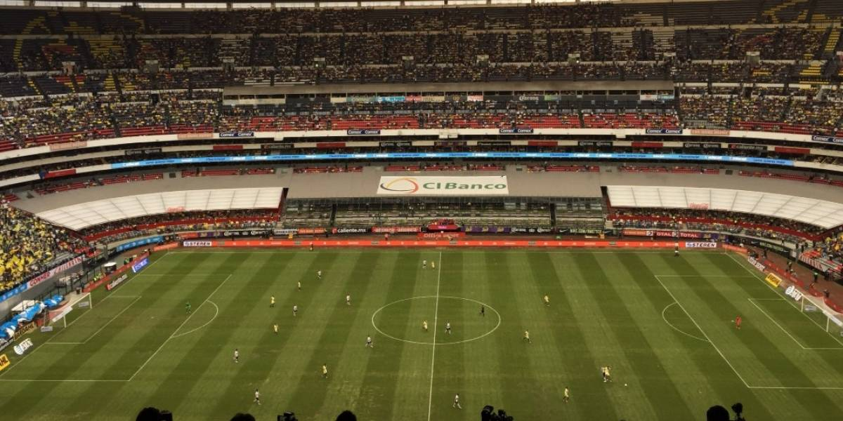 VIDEO: Pasto del Estadio Azteca luce una evidente mejoría