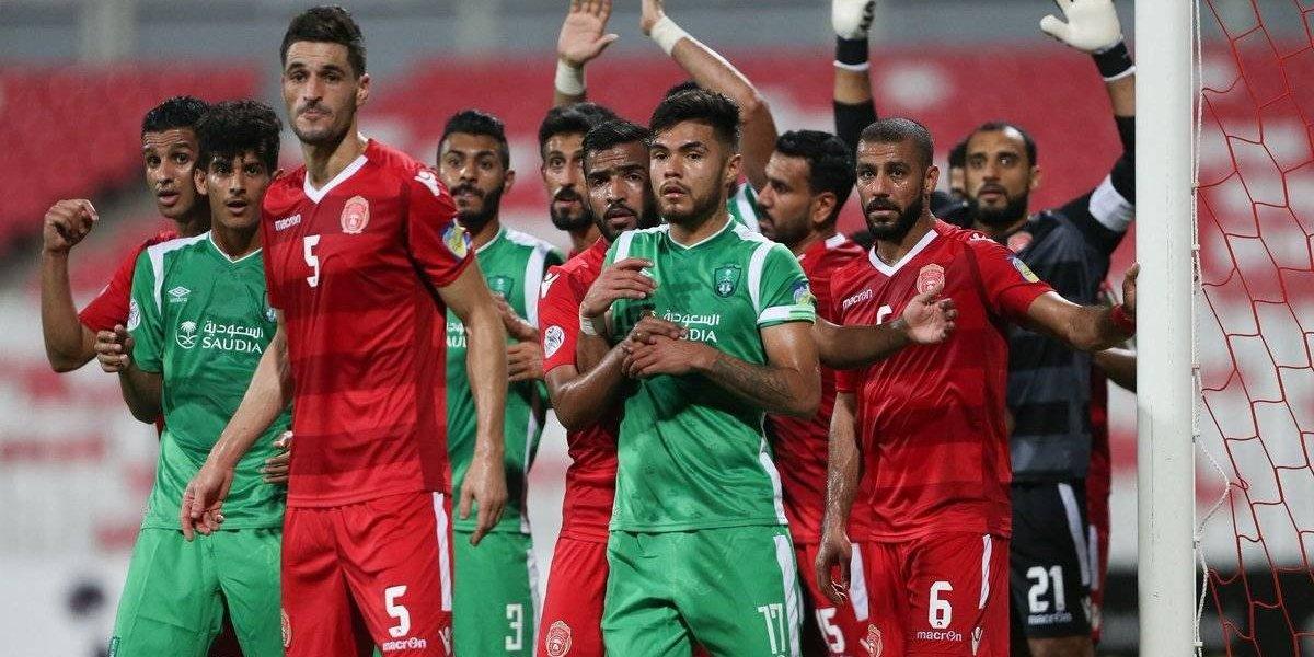 Paulo Díaz debutó con triunfo en Arabia en el Al-Ahli de Pablo Guede