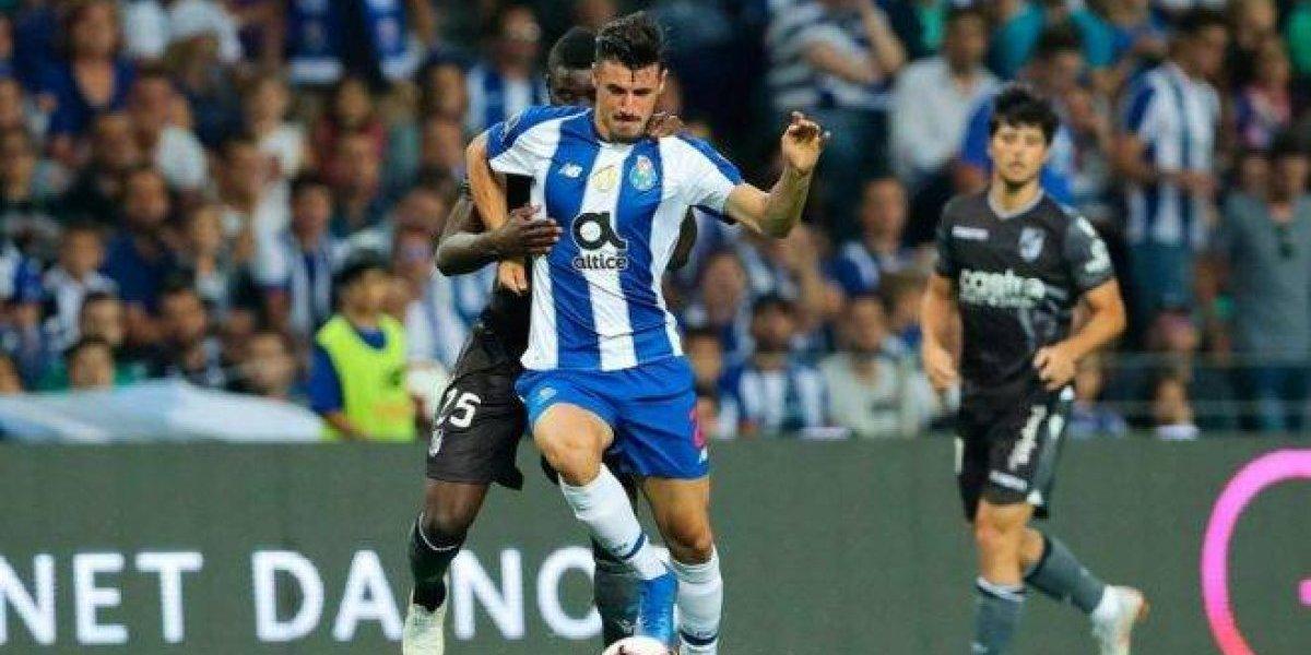 Con mexicanos en la cancha, Porto no pudo evitar la derrota