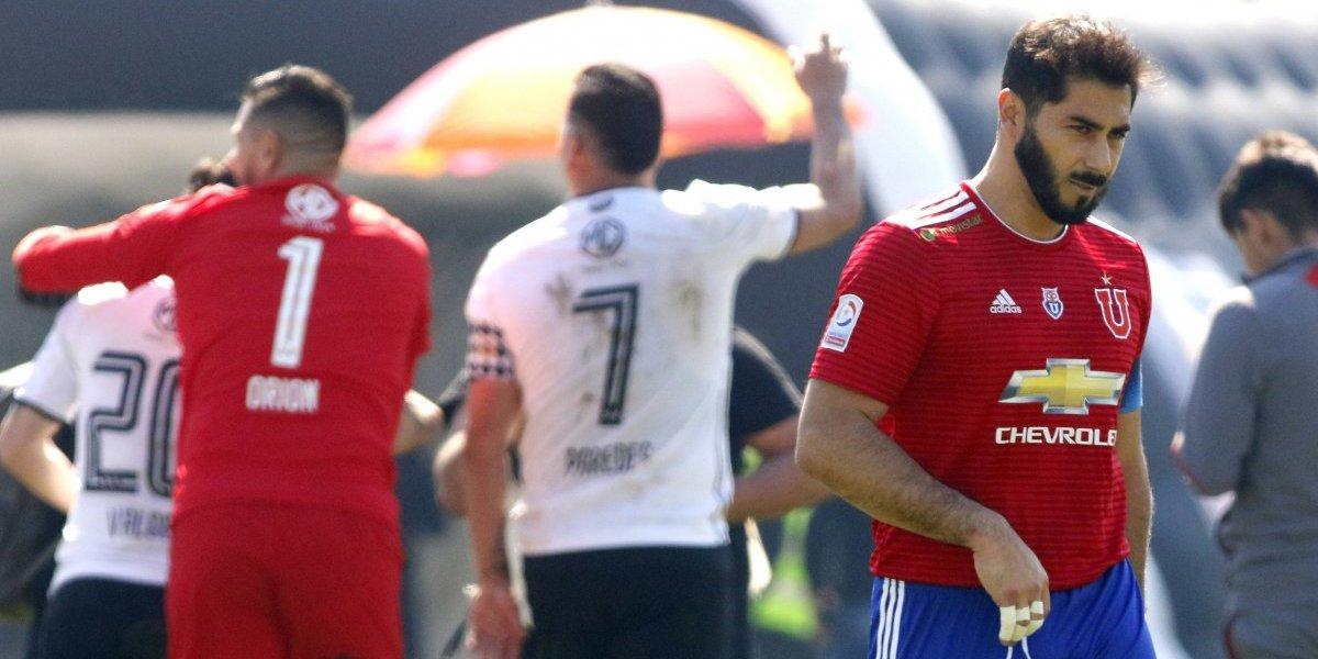 """El duro reclamo de Johnny Herrera: """"No sabía si estaba en Colina 1 o en una cancha de fútbol"""""""