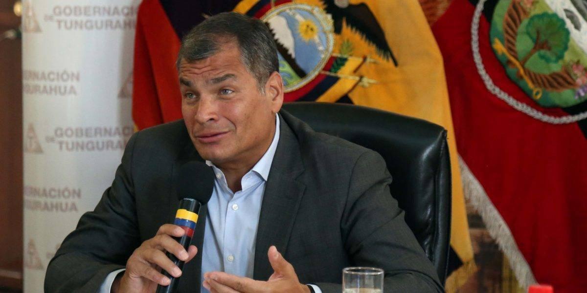Fiscalía abre investigación previa contra Rafael Correa y otros exfuncionarios en caso Odebrecht