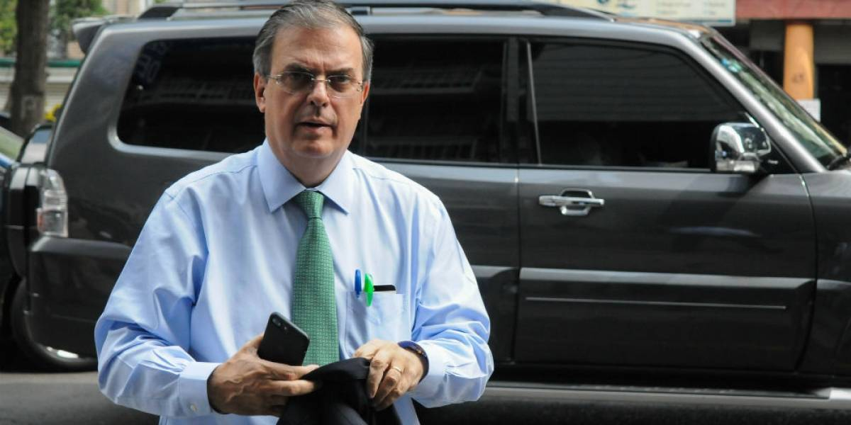 Ebrard confirma reunión de AMLO con el presidente de Guatemala