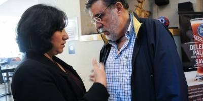 Irma Eréndira Sandoval y Julio Scherer