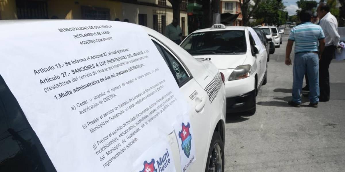 """Taxistas contra Uber: """"Es como comprar un disco pirata, es lo mismo"""""""