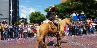 Desfile en Guadalajara