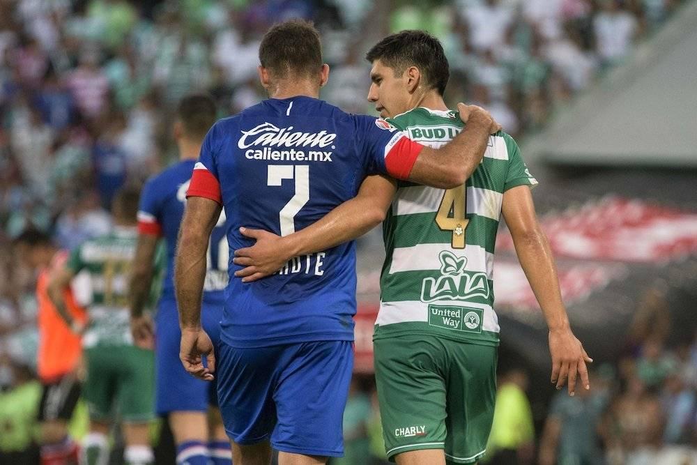 """""""Cautegol"""" puso en ventaja a La Máquina pero no pudo festejar una victoria. / Mexsport"""
