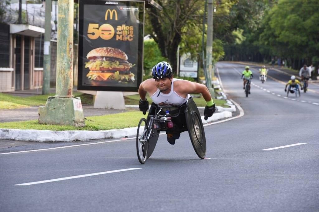 Atleta de capacidades especiales