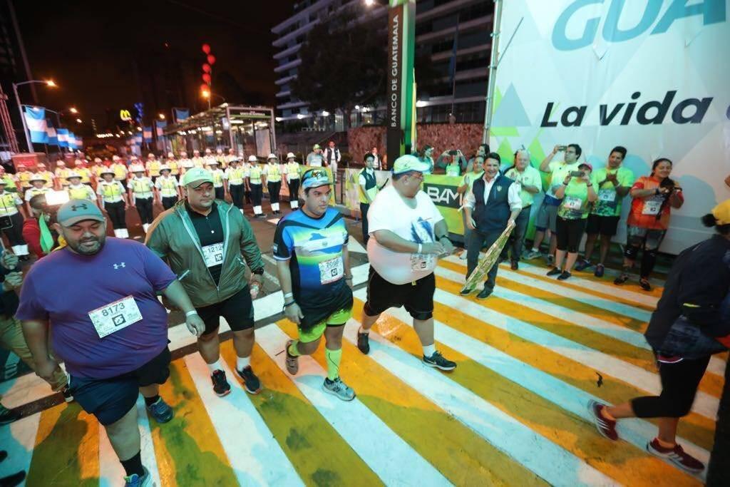 Los primeros corredores de los 21K