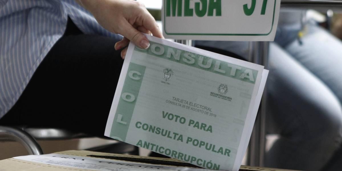Hombre buscado por hurto fue a votar la consulta anticorrupción y lo capturaron
