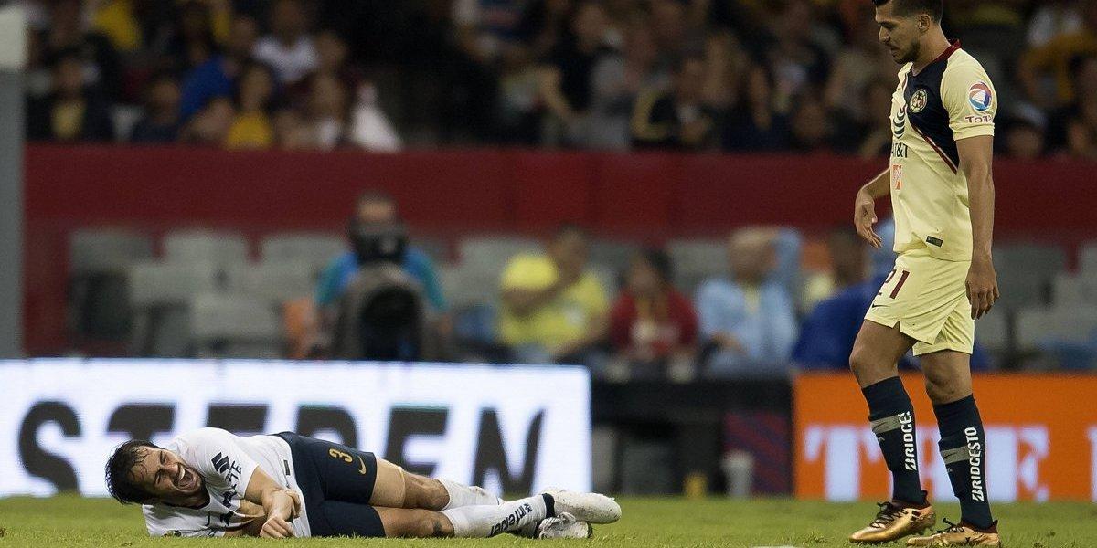 El mensaje del jugador de Pumas tras sufrir terrible lesión