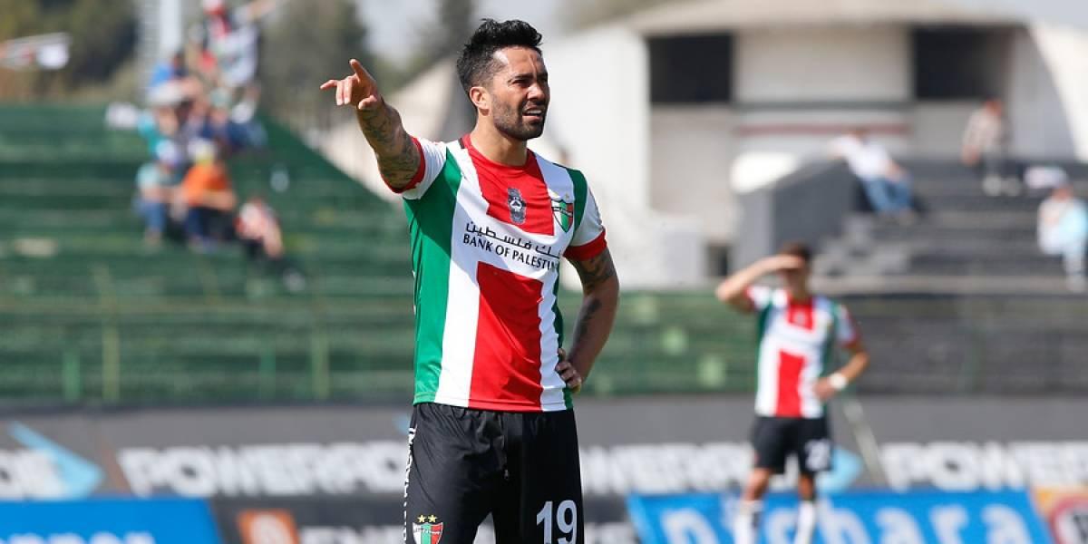 """El triste retorno a Chile del Mago Jiménez en Palestino: """"La pelota no quiso entrar"""""""