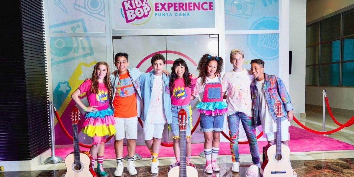"""La banda juvenil """"KidzBop"""" cantó en Punta Cana"""