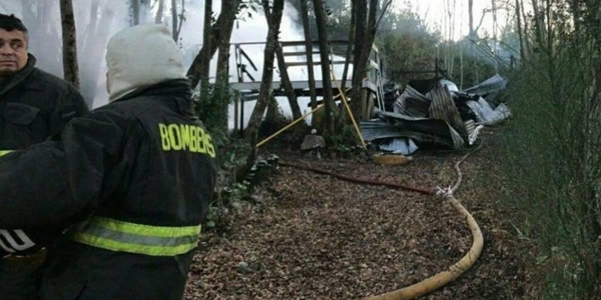 Cumpleaños fatal: tres jóvenes mueren calcinados en incendio tras celebración en Región de Ñuble