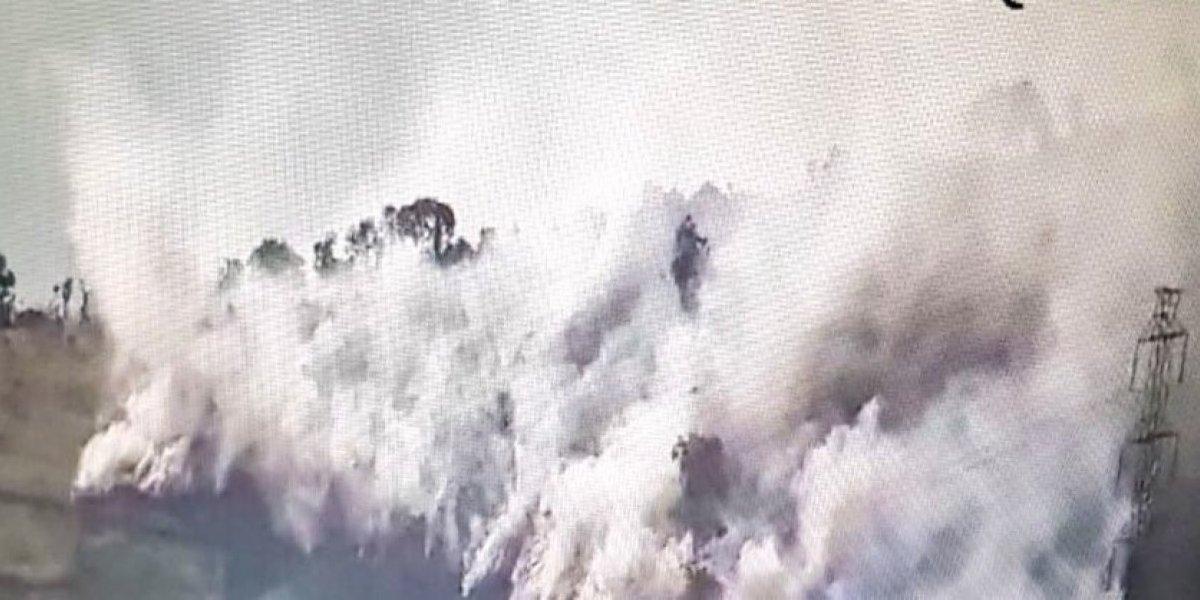 Se registra conato de incendio en Quitumbe, Quito