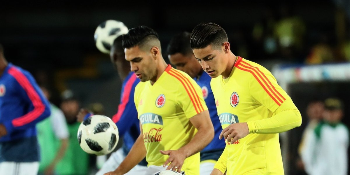 FÚTBOL - Colombia descarta a James para amistosos