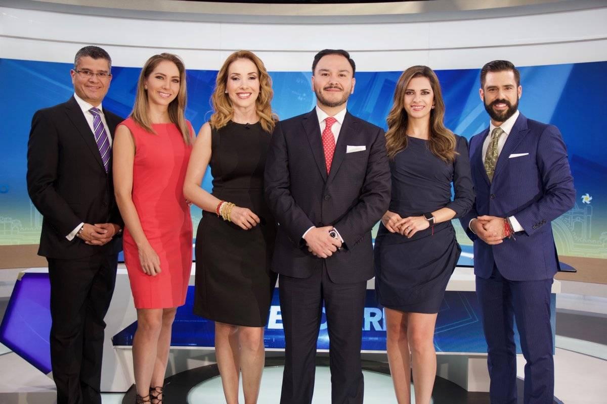 Ellos serán los conductores que participarán en los telediarios de Multimedios, que arrancan transmisión este lunes.