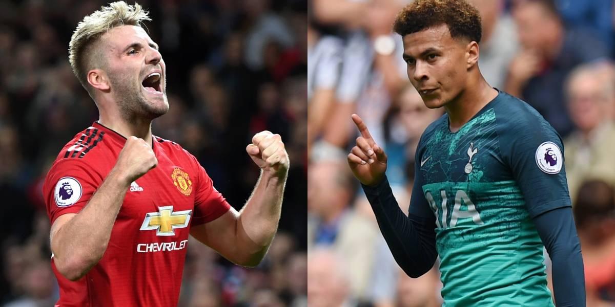 Manchester United y Tottenham protagonizan el clásico de la Premier League