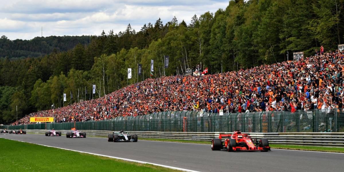 Vettel supera a Hamilton en Bélgica y corta la ventaja en el liderato de la F-1