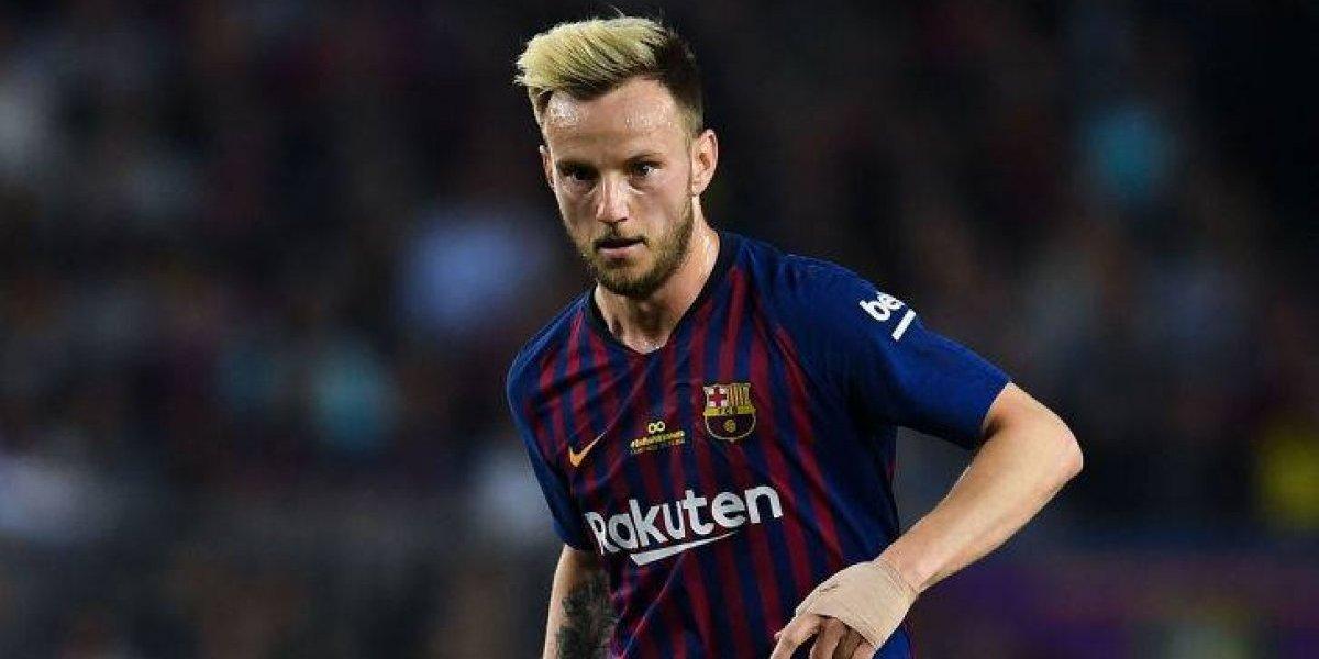 """Rakitic no se va del Barça y mete presión a Vidal: """"Nadie me ofrece lo que me da el mejor club del mundo"""""""