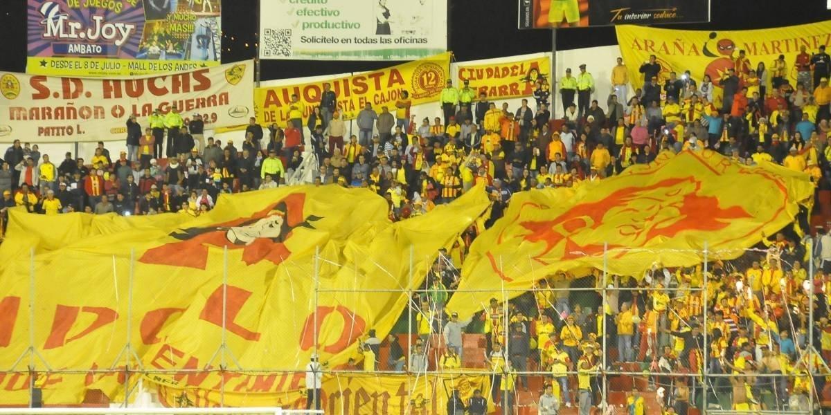 Exceso de radiación durante el partido de Barcelona Sporting Club y Aucas