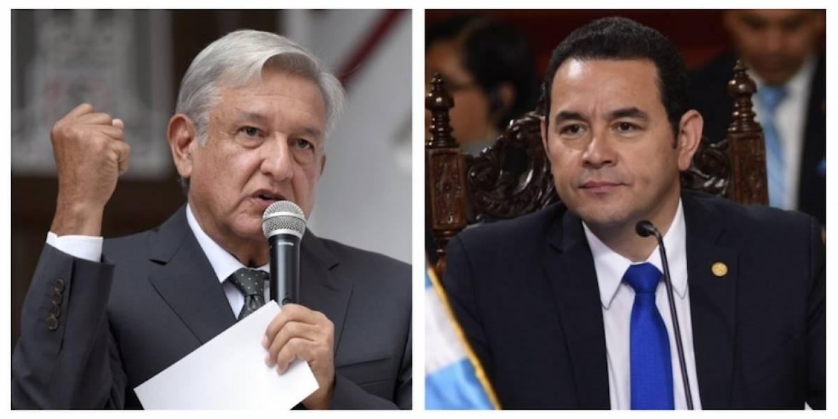 Estado Mayor resguardará reunión de López Obrador con Jimmy Morales