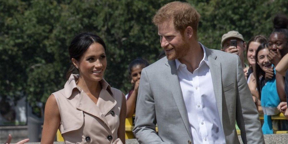 El príncipe Harry y Meghan Markle adoptan a un perro