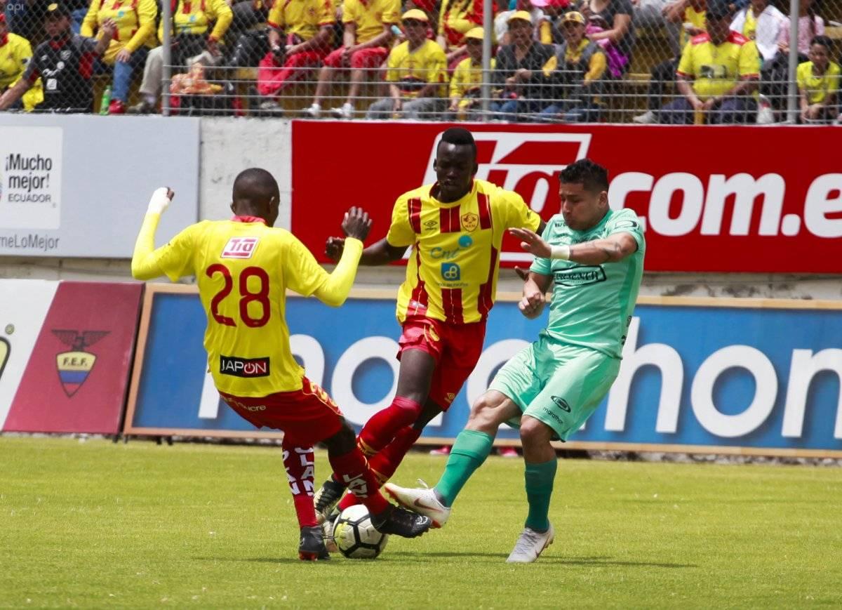 QUITO-ECUADOR (26-08-2018 ) Partido Aucas vs Barcelona estadio Gonzalo Pozo Ripalda FOTO API/JUAN DIEGO MONTENEGRO 26 de Agosto de 2018