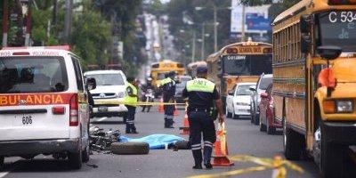 Motorista fallecido en carretera a El Salvador