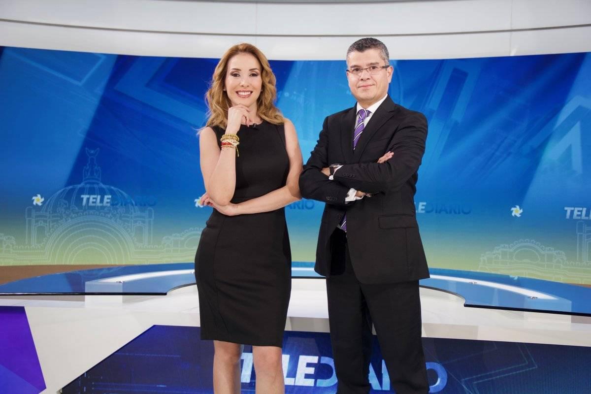 Ellos serán los conductores que participarán en los telediarios de Multimedios, que arrancan transmisión este lunes. Foto: Cortesía.