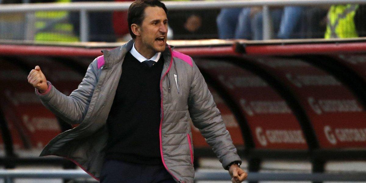 """Beñat San José tras el pobre empate con Audax: """"Estamos haciendo un campeonato extraordinario"""""""