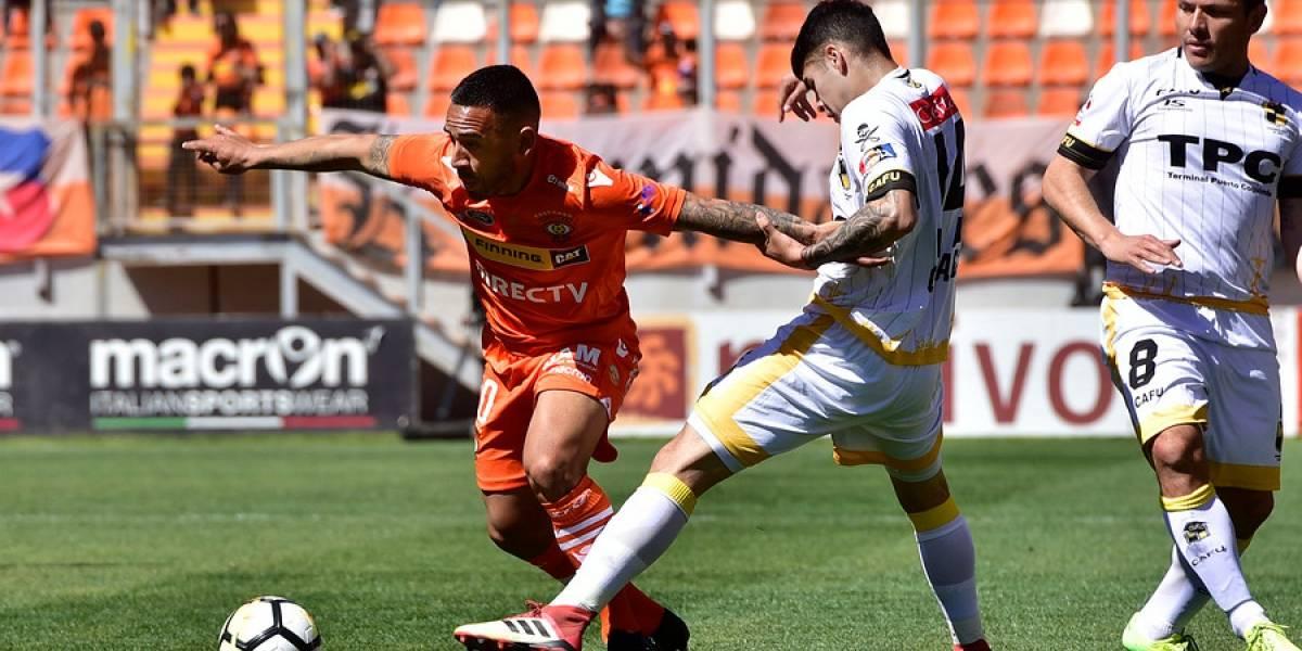 El puntero Coquimbo sacó pecho en Calama y rescató empate de oro ante Cobreloa
