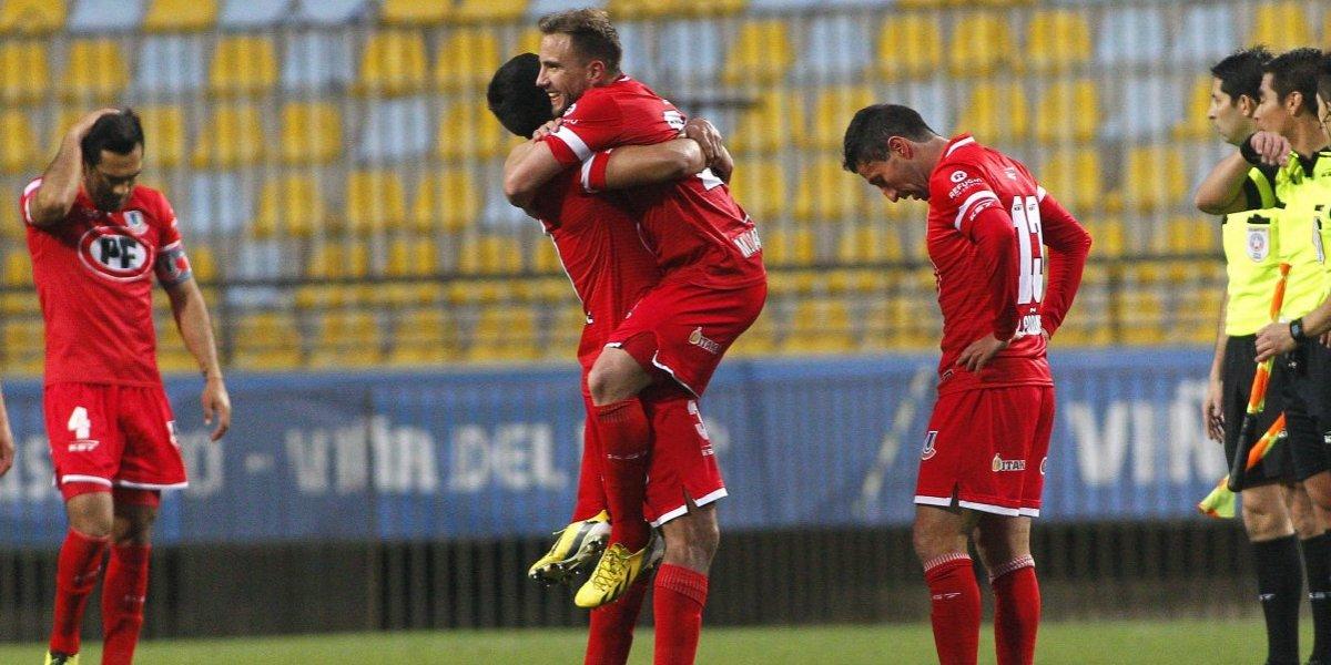 Unión La Calera venció a Iquique en el último suspiro y se alzó al segundo lugar del Campeonato Nacional